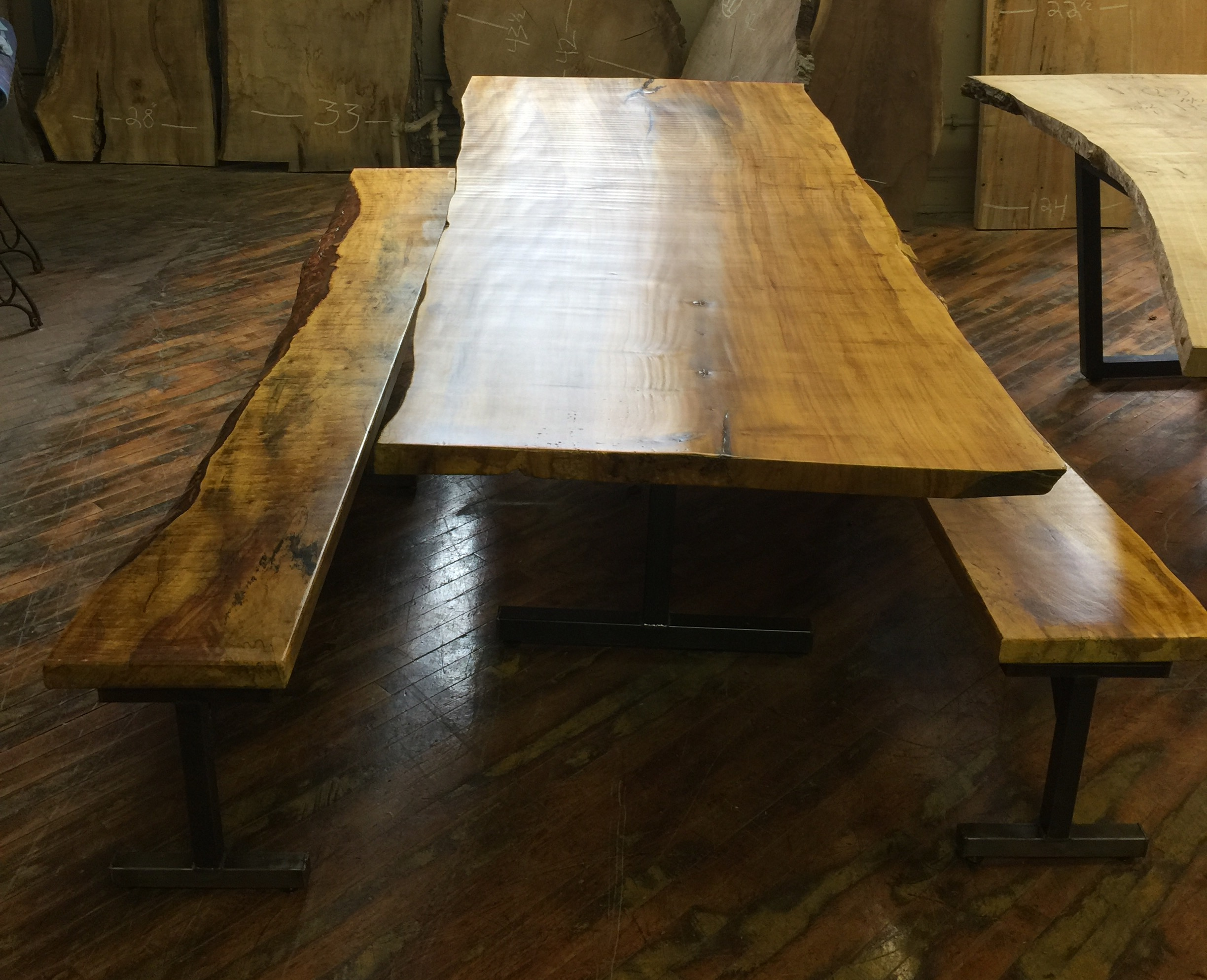 live-edge-maple-table-with-benches