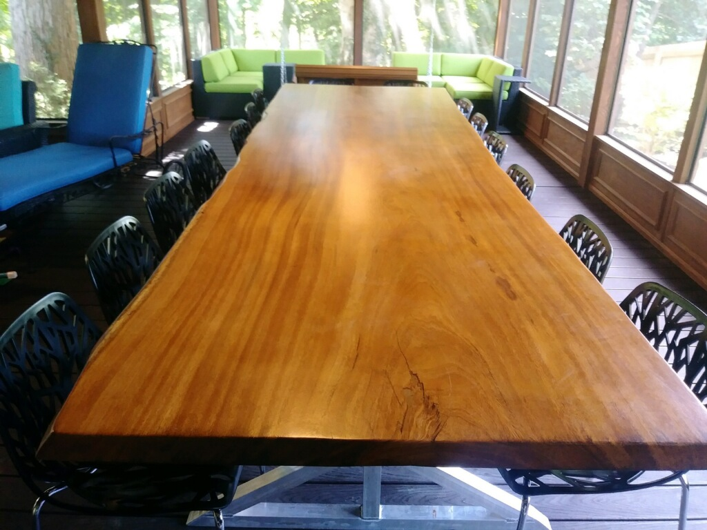 Live Edge Angelim Pedra Finished