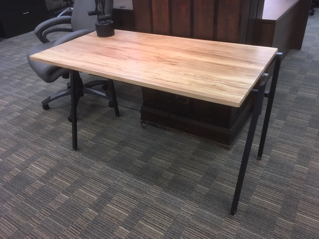 109. Reclaimed Wood Desks