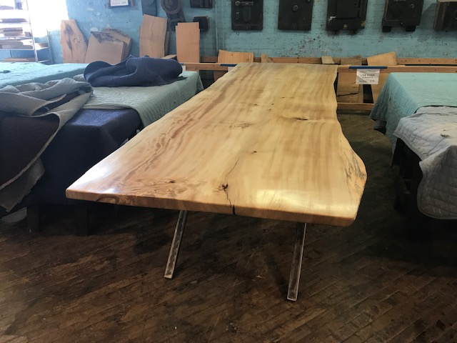Live Edge Cottonwood Table