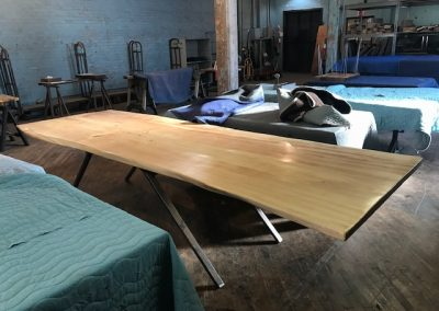 Live Edge Cottonwood Conference Table 2