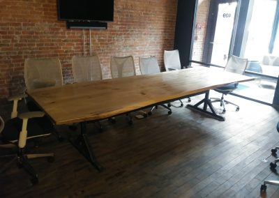 Live Edge Cottonwood Conference Table 3