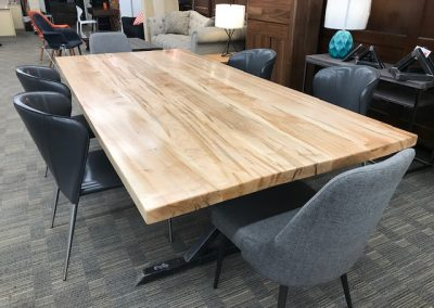 Custom Ambrosia Maple Table