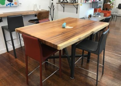 Live Edge Australian Blackwood Counter Table