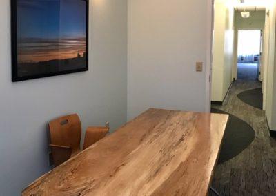 Custom Spalted Maple Wood Desk
